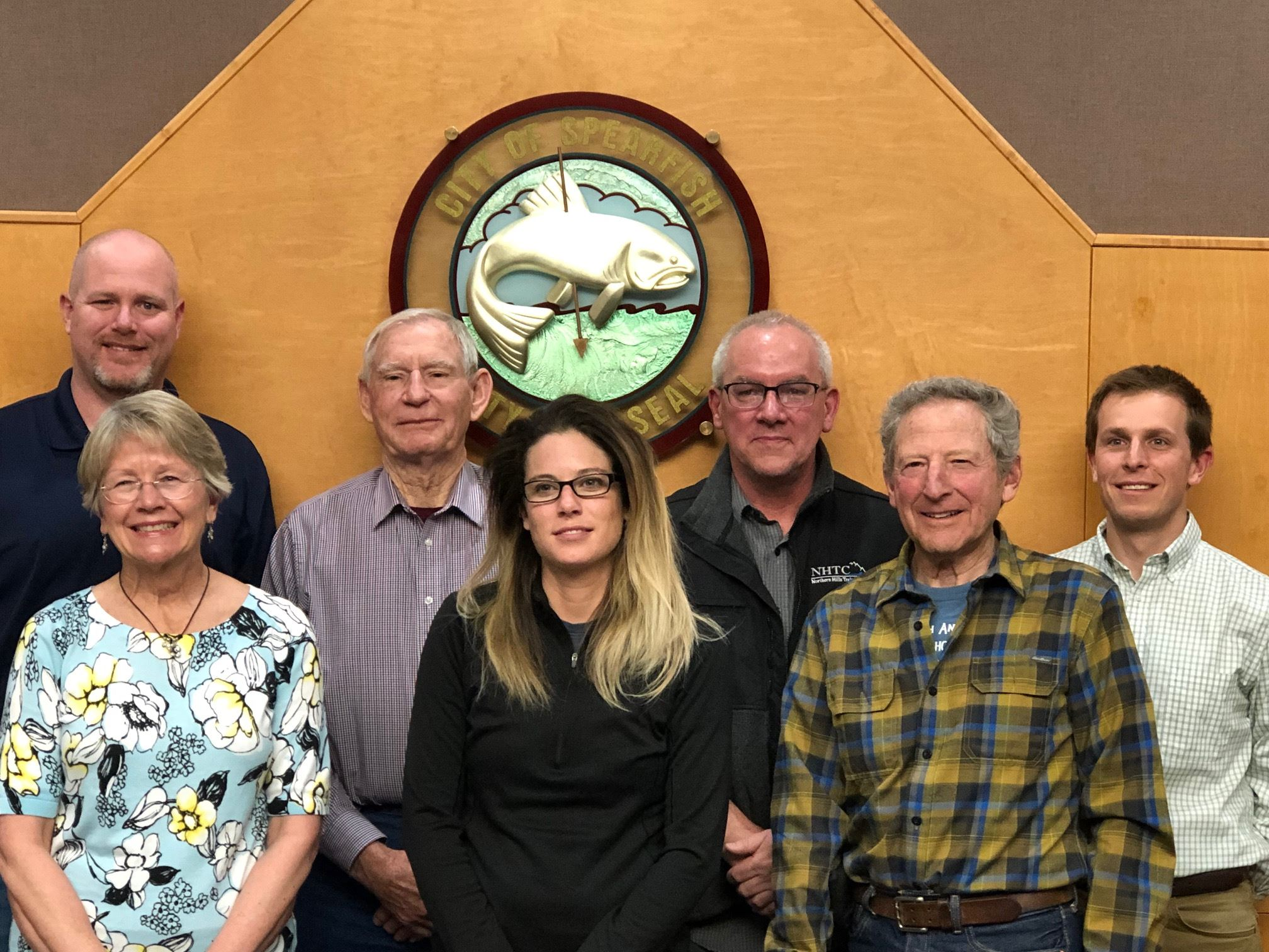 04-22-19 Group Photo of the Planning Commission
