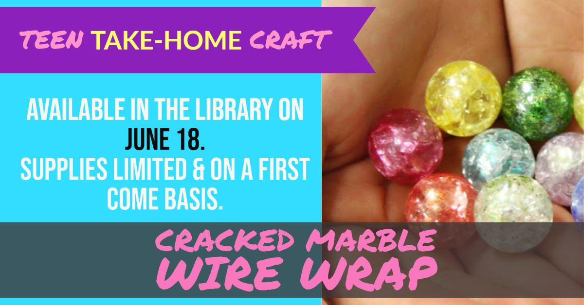 Cracked Marble Wrap Craft