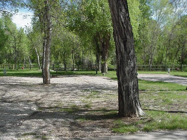 Spearfish City Campground Premium Site 3