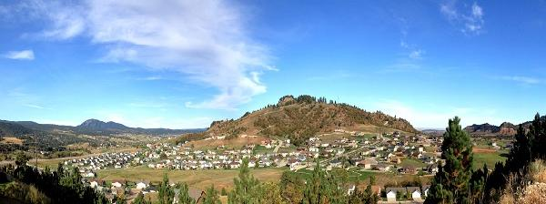 View of area of development in Spearfish