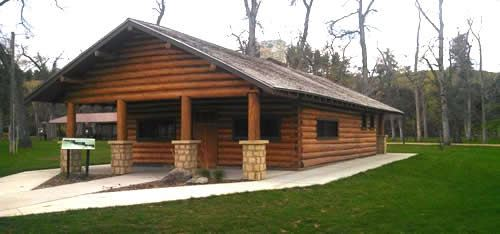 Exterior of the Log Cabin 3