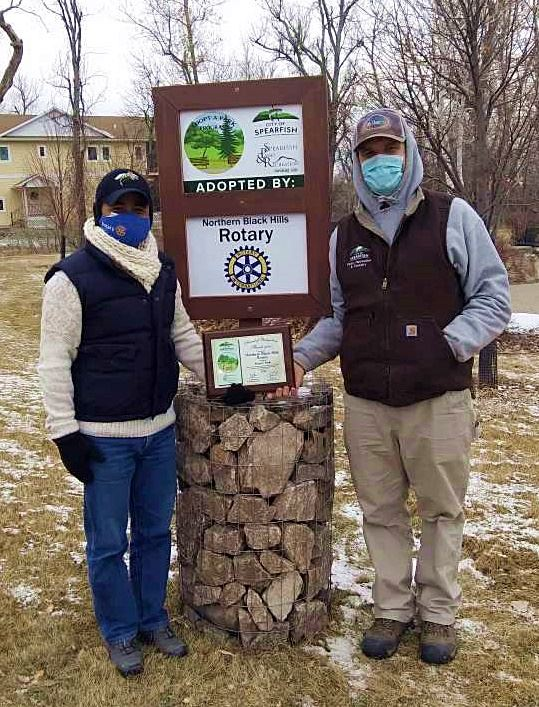 1-26-21 Spearfish Parks Press Release - Adopt A Park update